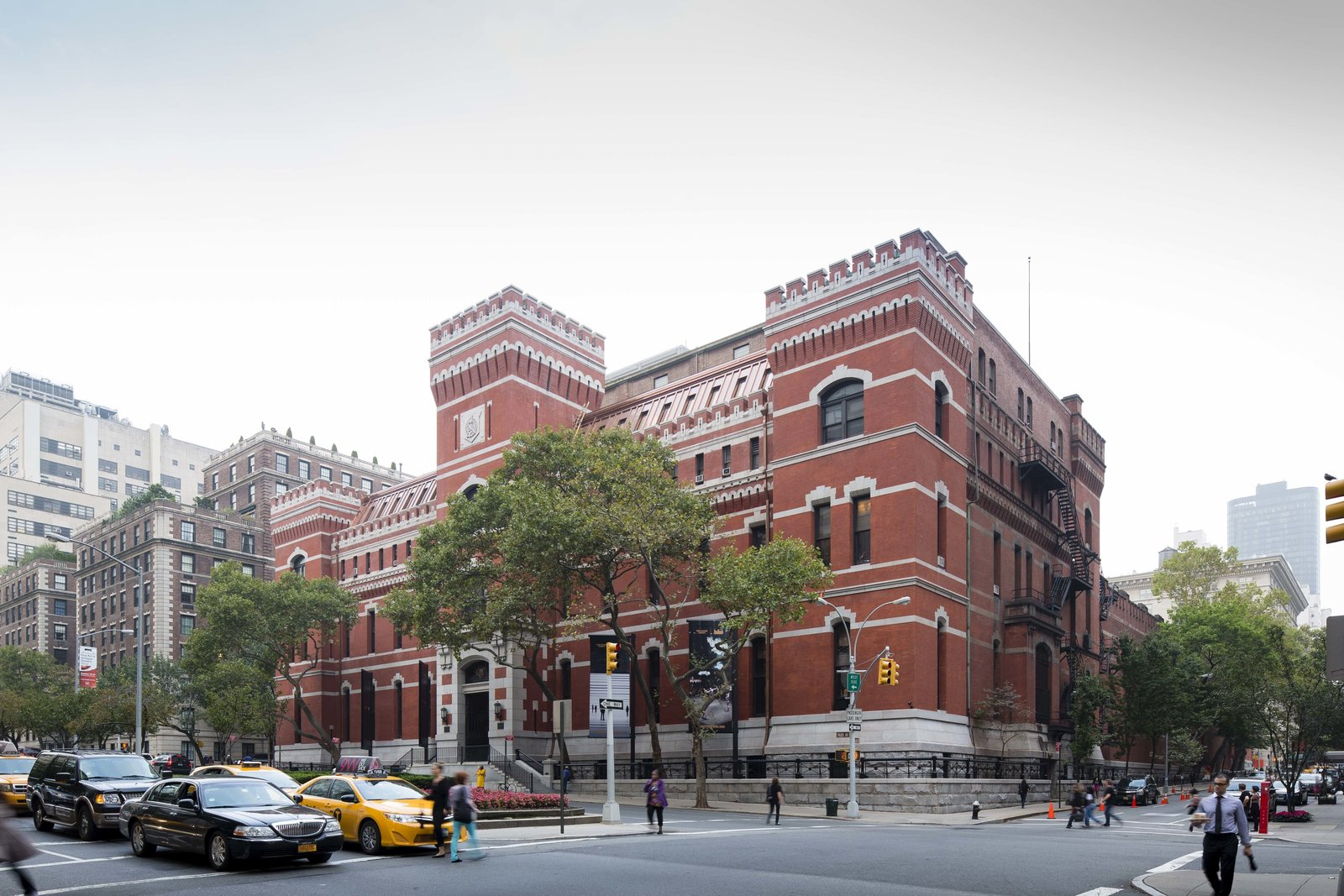 October 8 Building of the Day: Park Avenue Armory  Herzog & DeMeuron and Platt Byard Dovell White Architects   Photo credit: James Ewing   2013 Buildings of the Day by Archtober