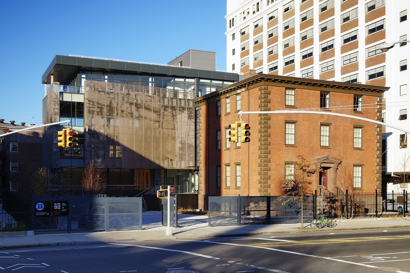 October 25 Building of the Day: The Brooklyn Navy Yard Center at BLDG 92  Beyer Blinder Belle Architects & Planners and Workshop/APD LLC   Photo credit: Copyright Tom Olcott   2013 Buildings of the Day by Archtober