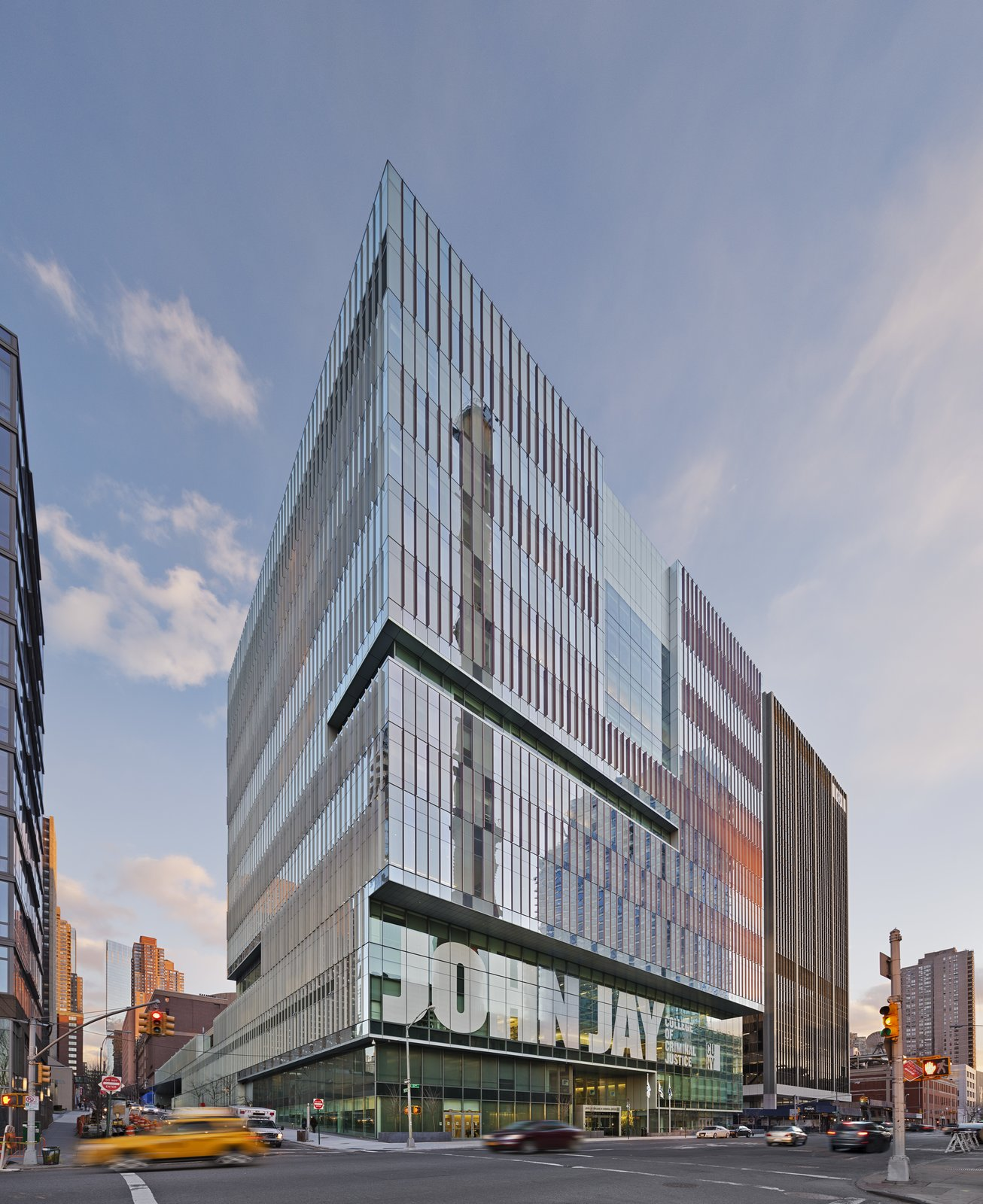 October 18 Building of the Day: John Jay College of Criminal Justice  Skidmore, Owings & Merrill LLP   Photo credit: Copyright Eduard Hueber/Archphoto Inc.   2013 Buildings of the Day by Archtober