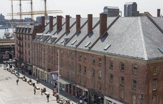 Schermerhorn Row at the South Street Seaport is also an Archtober 2016 Building of the Day.