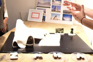 Great Architectural Bake-Off New York - Photo 6 of 7 - STUDIOS Architecture's winning cake: Zaha Hadid's Heydar Aliyev Center in Azerbaijan