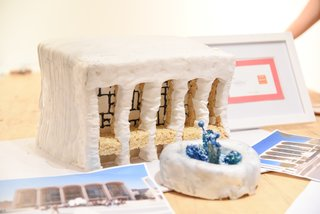 Great Architectural Bake-Off New York - Photo 1 of 7 - Jeffrey Beers International built one of the two versions of Lincoln Center