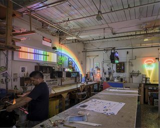 Archtober Itinerary: Benjamin Prosky, Assoc. AIA - Photo 1 of 3 - Lite Brite Neon