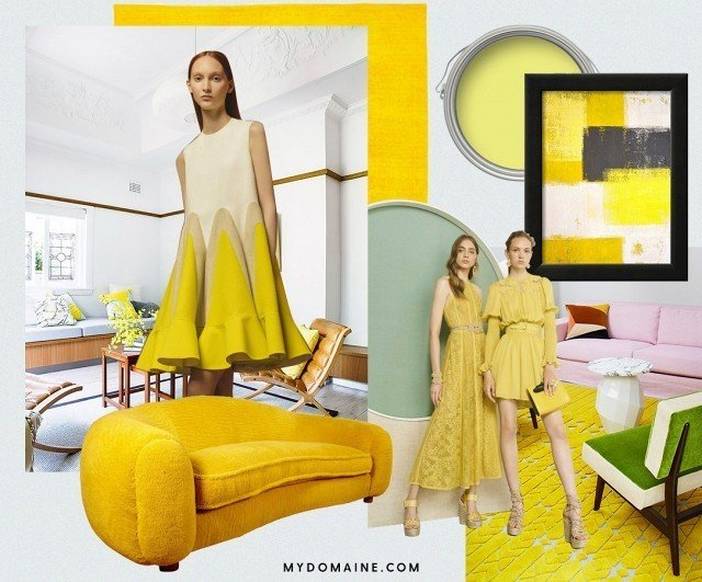 Summer has only just begun, and we've already got a new color crush: chartreuse.  #chartreuse #colorcrush #color #yellow #design #mydomaine Our Latest Color Crush is Perfect for Summer by MyDomaine