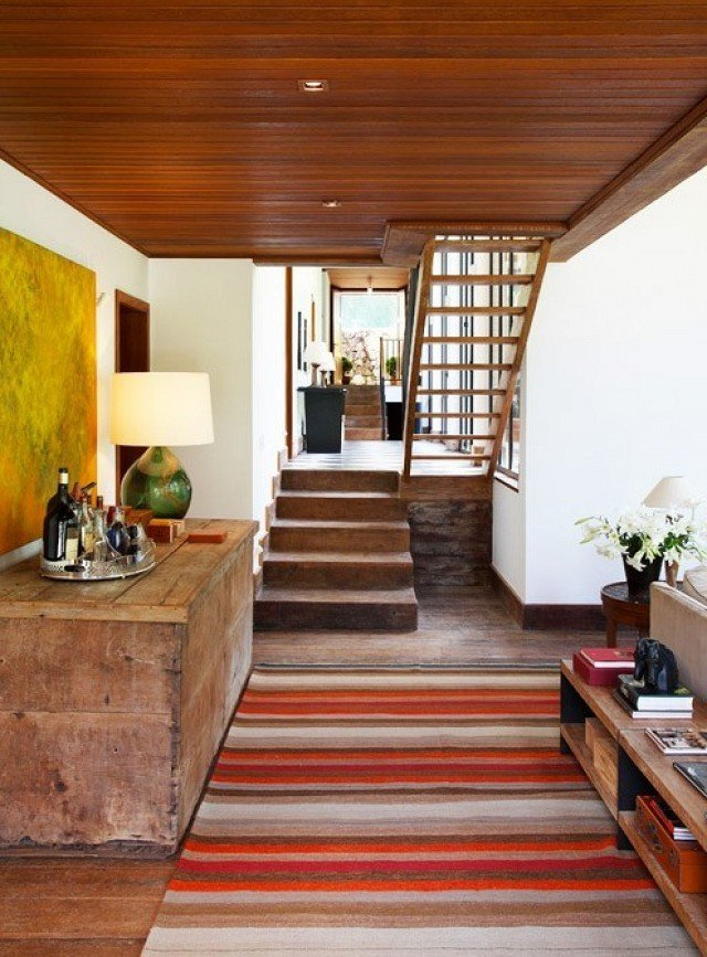 Photo courtesy of Ourico Arguitetura e Design  Photo 5 of 11 in Step Inside a Dramatic Brazilian Mountainside Masterpiece
