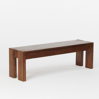 How to Decorate Your Dining Room at Every Decade - Photo 7 of 19 - West Elm Boerum Dining Bench ($199)