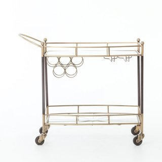 How to Decorate Your Dining Room at Every Decade - Photo 15 of 19 - France & Son Bar Cart ($745)