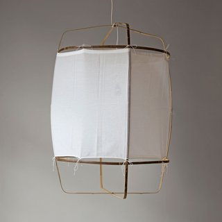 """Inside the Modern Nantucket Home of an Architect - Photo 3 of 30 - Nelson Sepulveda White """"Z1"""" Lantern ($540)"""