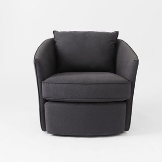 Inside the Modern Nantucket Home of an Architect - Photo 9 of 30 - West Elm Duffield Swivel Chair ($749)