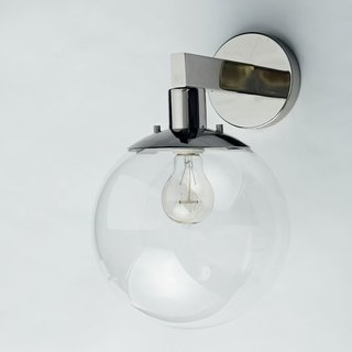 Inside the Modern Nantucket Home of an Architect - Photo 26 of 30 - West Elm Globe Sconce ($99)