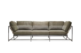 This Furniture Designer's Home Has All the Multipurpose Furniture You Need Now - Photo 10 of 21 - Stephen Kenn + Long Journey Olive Sofa ($11000)