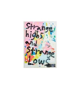 "Artist in Residence: Inside Cold War Kids' Matt Maust's L.A. Studio - Photo 3 of 28 - ""Strange Highs and Strange Lows"" by Matt Maust (price upon request)"
