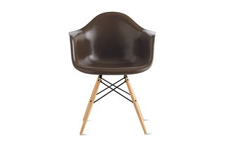 "This Insanely Cool Loft Is What Downtown Dreams Are Made Of - Photo 24 of 29 - Eames ""Molded Fiberglass Dowel-Leg Armchair"" ($649)"