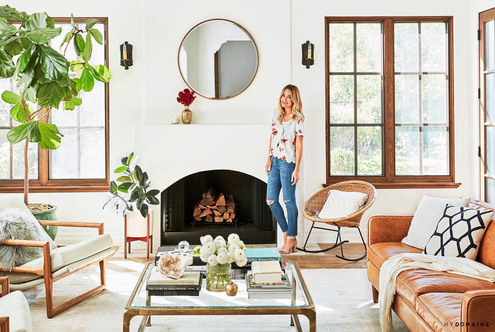 Photo 8 of 24 in Tour Lauren Conrad's Elegant, Light-Filled Home in the Pacific Palisades