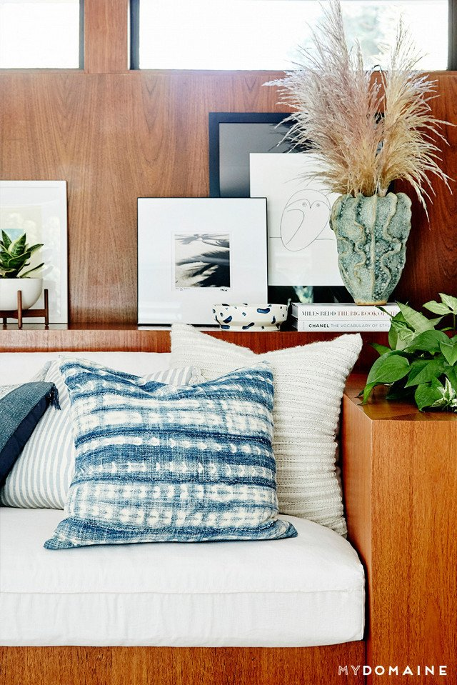 Cover photo by Jenna Peffley for MyDomaine; Styling by Kate Martindale; Design by TwoFold LA  Photo 6 of 30 in Inside Fitness Mogul Lorna Jane's Elegant L.A. Retreat