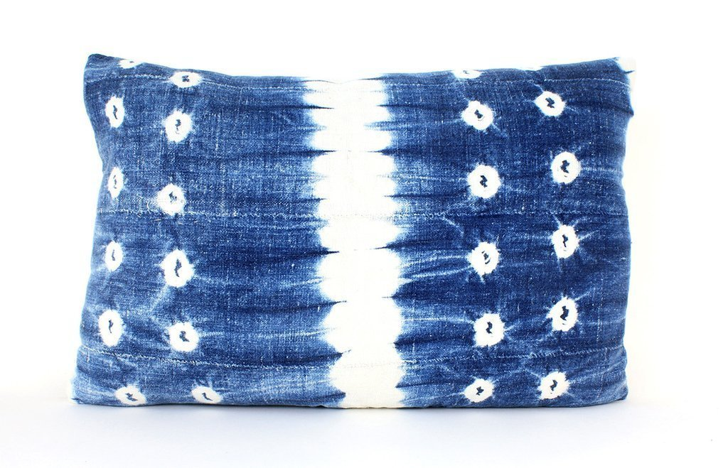 Amber Interiors Indigo Throw Pillow ($185)