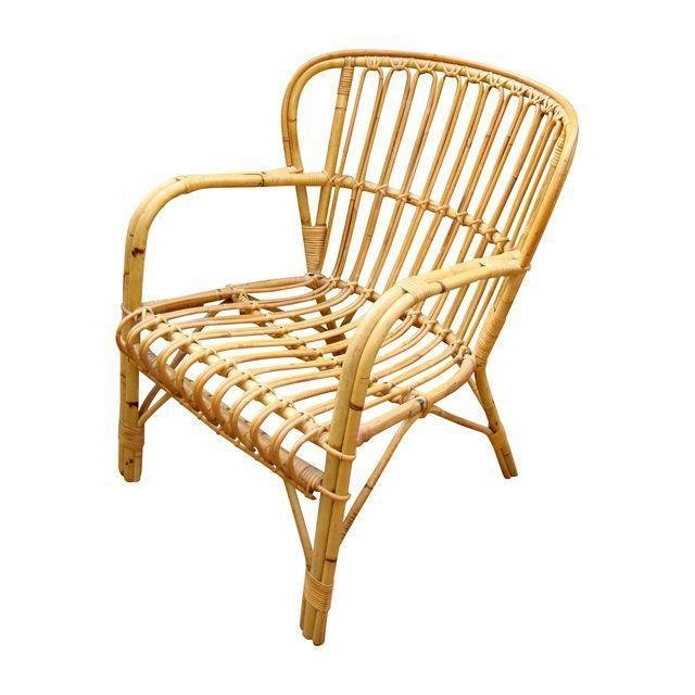 Franco Albini Midcentury Rattan Bentwood Chair ($370)  Photo 15 of 30 in Inside Fitness Mogul Lorna Jane's Elegant L.A. Retreat