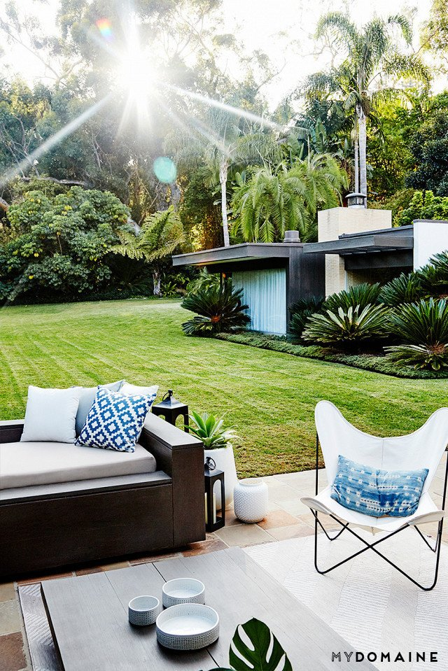 Cover photo by Jenna Peffley for MyDomaine; Styling by Kate Martindale; Design by TwoFold LA  Photo 28 of 30 in Inside Fitness Mogul Lorna Jane's Elegant L.A. Retreat