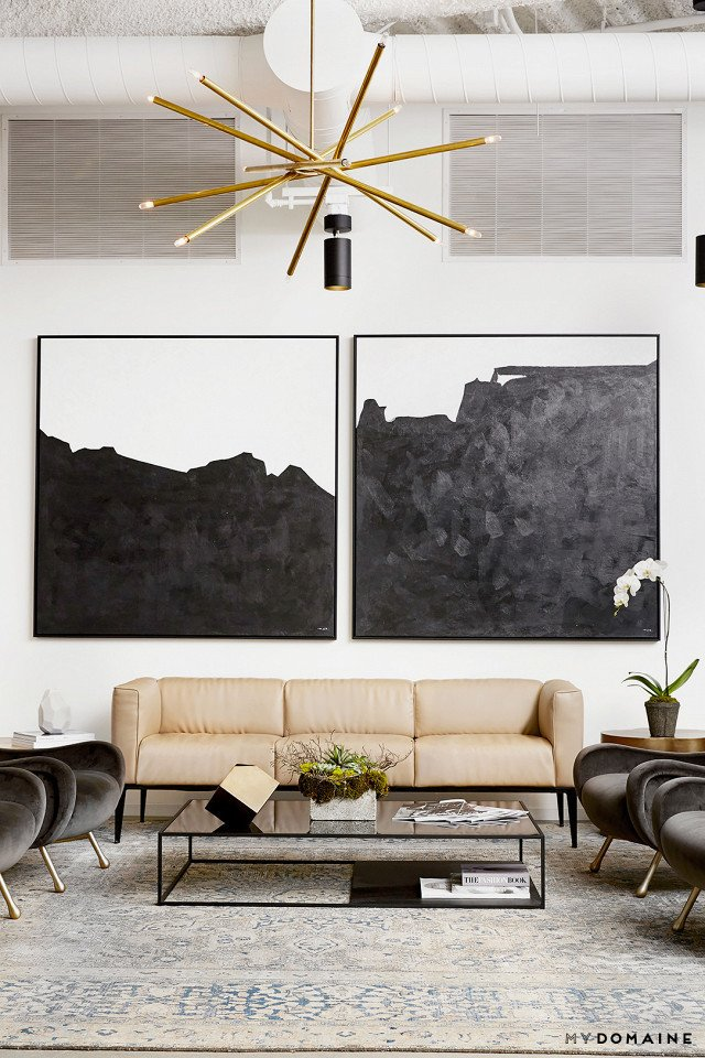 Photo: Chris Patey for MyDomaine; Styling: Wayfair  Photo 2 of 26 in Inside Our Striking MyDomaine Office in Los Angeles