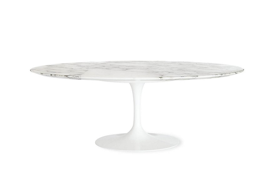 Saarinen Low Oval Coffee Table ($1676)  Photo 11 of 26 in Inside Our Striking MyDomaine Office in Los Angeles