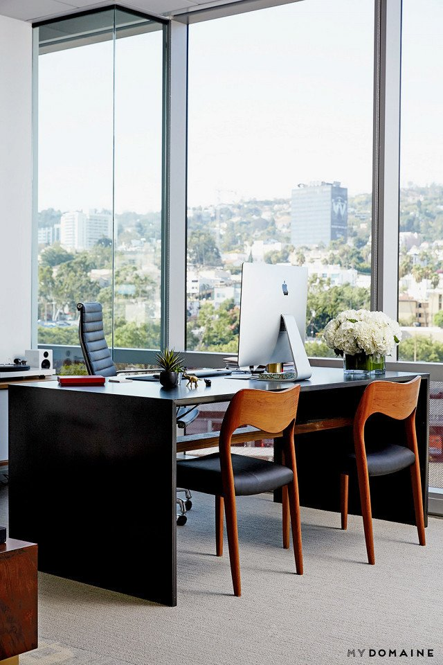 Photo: Chris Patey for MyDomaine; Styling: Wayfair  Photo 12 of 26 in Inside Our Striking MyDomaine Office in Los Angeles