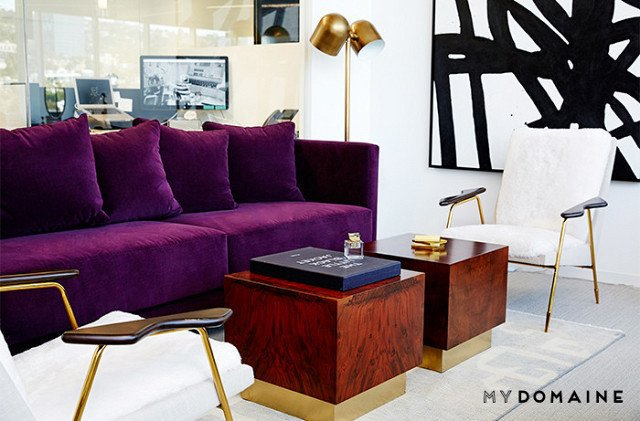 Photo: Chris Patey for MyDomaine; Styling: Wayfair  Photo 16 of 26 in Inside Our Striking MyDomaine Office in Los Angeles