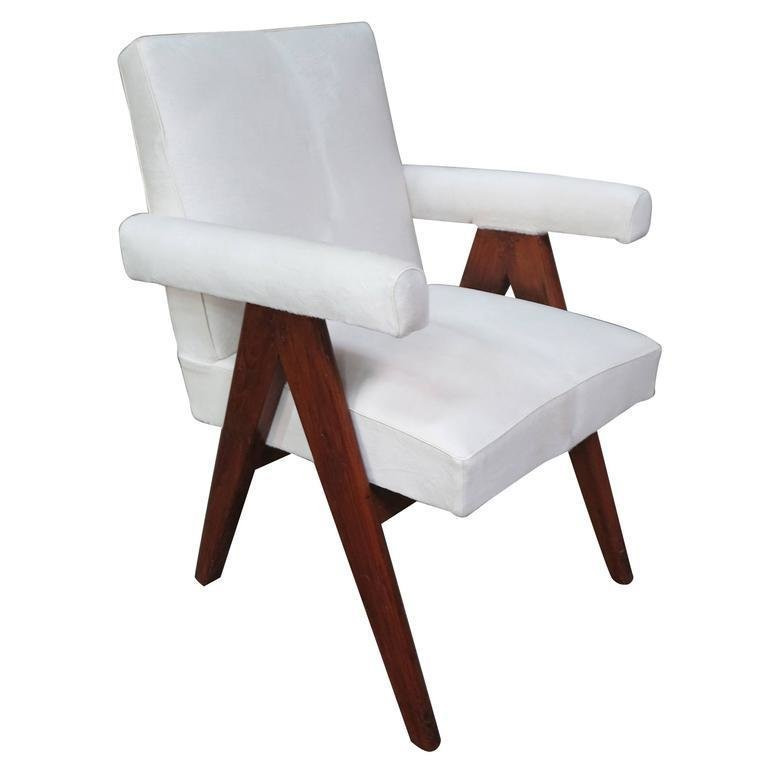 Pierre Jeanneret Senat Chair Circa 1955 (price upon request)  Photo 21 of 26 in Inside Our Striking MyDomaine Office in Los Angeles