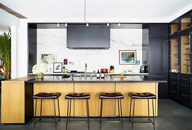 Photo by Brittany Ambridge, Design by Gachot Studios  Photo 3 of 22 in The Chicest Kitchens on the Internet This Year