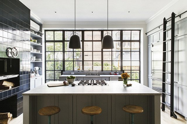 Photo Courtesy of Elizabeth Roberts  Kitchen by Jamel from The Chicest Kitchens on the Internet This Year