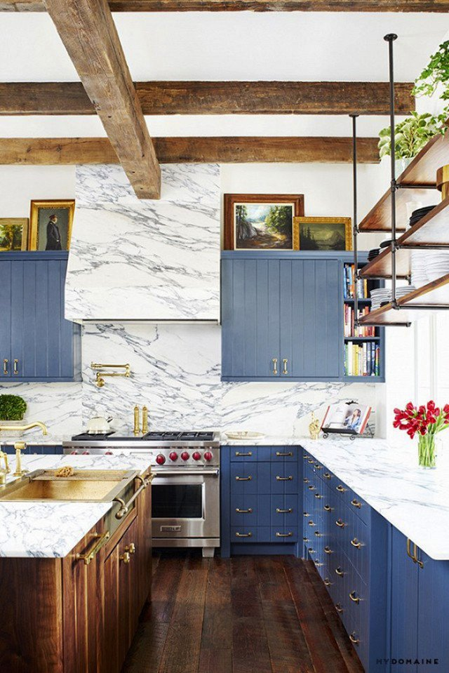 Photo by Casey Dunn for MyDomaine  Photo 5 of 22 in The Chicest Kitchens on the Internet This Year