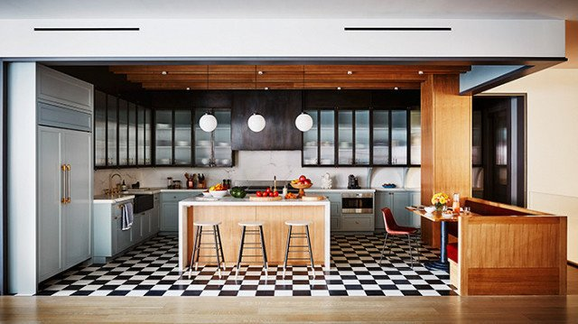 Photo by Douglas Friedman/Trunk Archive, Design by Ashe + Leandro  Photo 9 of 22 in The Chicest Kitchens on the Internet This Year
