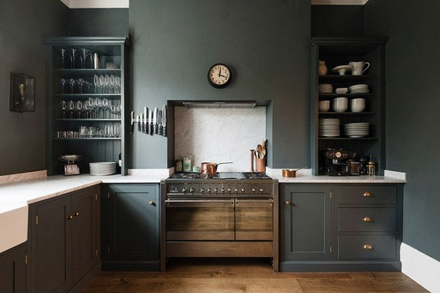 Photo Courtesy of DeVol Kitchens  Photo 13 of 22 in The Chicest Kitchens on the Internet This Year