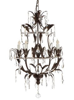It's Official: These Are the Best Celebrity Home Tours of 2016 - Photo 15 of 27 - Bradburn Gallery Home Almeria Chandelier ($1729)