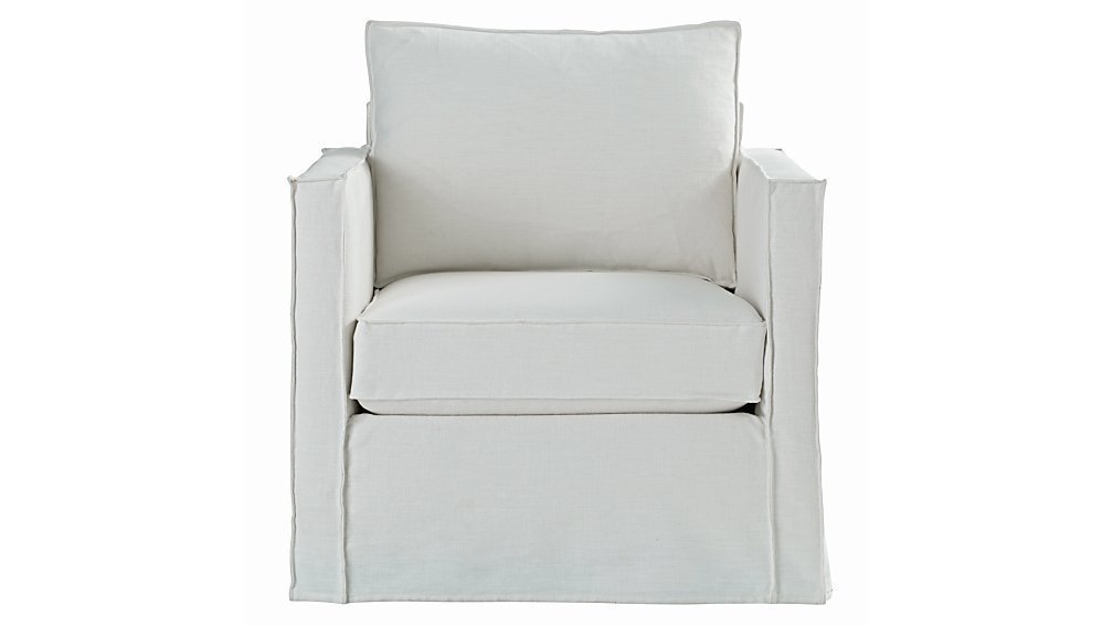 Land of Nod Glider Slipcover Chair ($509)  Photo 2 of 19 in This Is How an Aussie Model Decorates a Family Home—and It's So Cool
