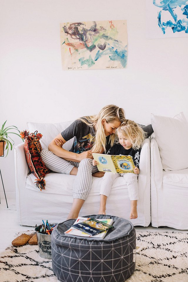 Photo 3 of 19 in This Is How an Aussie Model Decorates a Family Home—and It's So Cool