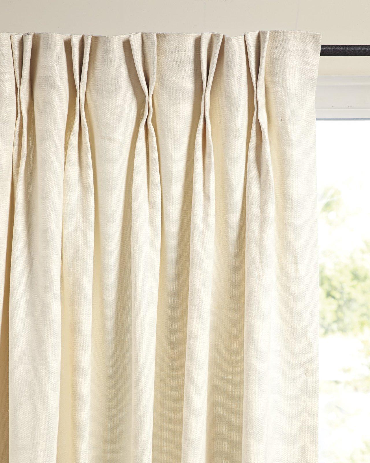 Serena & Lily Palmer Linen Window Panel ($150)