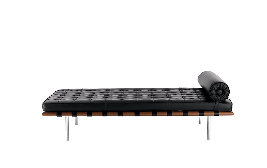 Knoll Barcelona Couch ($9772)  Photo 4 of 16 in The #1 Small-Space Hack New Yorkers Swear By