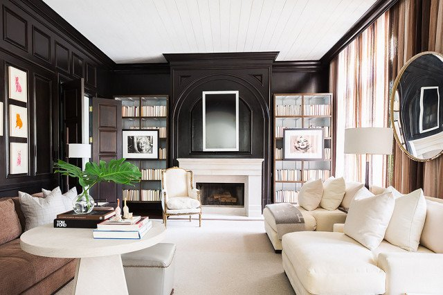 PHOTO: Alyssa Rosenheck  Photo 3 of 18 in 9 Home Libraries We All Want to Curl Up in This Weekend