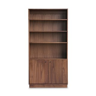 9 Home Libraries We All Want to Curl Up in This Weekend - Photo 14 of 18 - Hedge House Furniture Handcrafted Walnut Bookshelf ($1949)