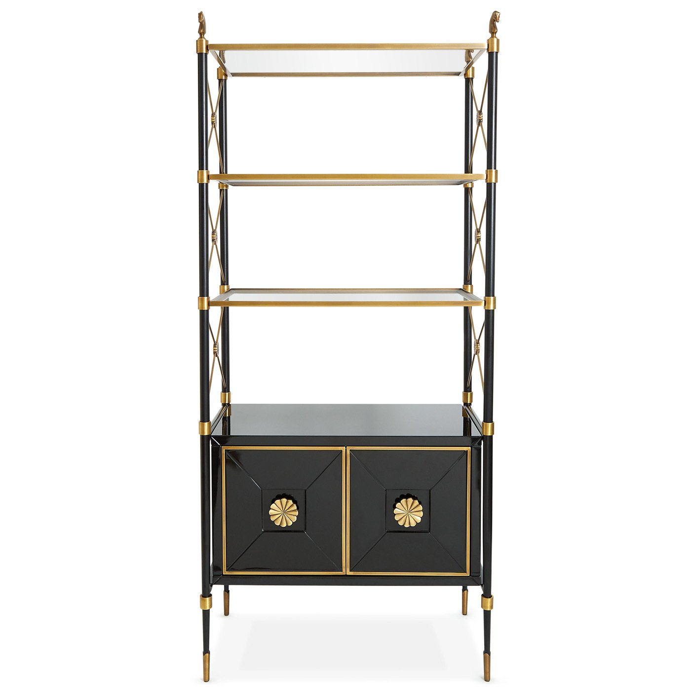 Jonathan Adler Rider Étagère ($2995) 9 Home Libraries We All Want to Curl Up in This Weekend - Photo 4 of 18
