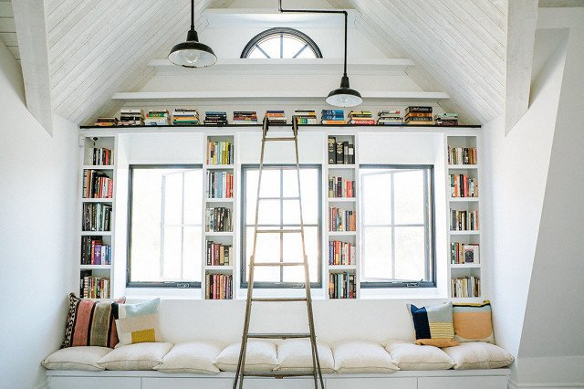 PHOTO: Josh Franer for Leanne Ford Interiors  Photo 5 of 18 in 9 Home Libraries We All Want to Curl Up in This Weekend