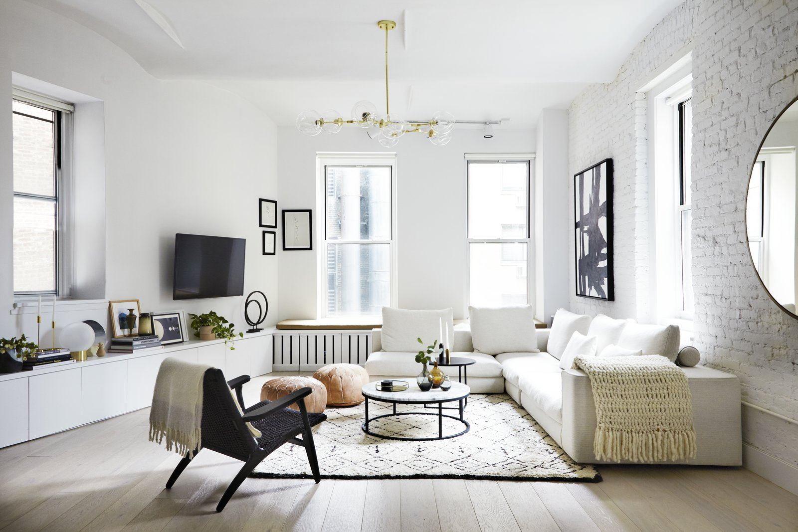 Photo 1 of 19 in Tour an Insanely Stylish NYC Loft With Major Scandinavian Vibes