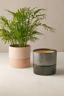 Tour an Insanely Stylish NYC Loft With Major Scandinavian Vibes - Photo 12 of 19 - Urban Outfitters Madison 6-inch Planter ($24)