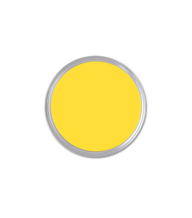 Benjamin Moore Bright Yellow Sample ($7)  Photo 3 of 23 in What's the Best Color to Paint Your Front Door? Your Guide to Finding The One