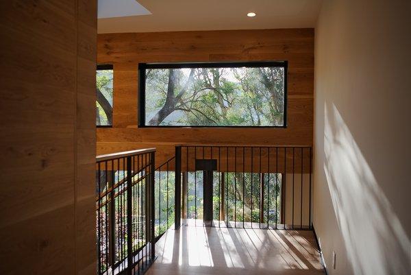 Modern home with hallway and medium hardwood floor. Photo 10 of Sherwood Forest