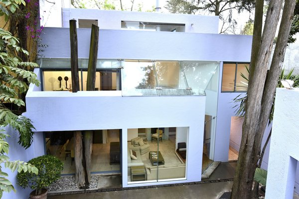 Elevation showing three levels Photo 9 of Casa Lila modern home