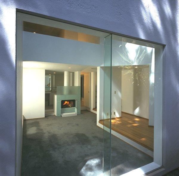 Window into living Photo 10 of Casa Lila modern home