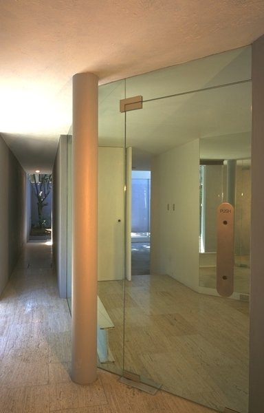Tunnel and  entrance Photo 12 of Casa Lila modern home