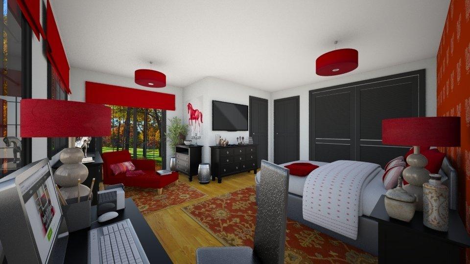 Bedroom by Miguel Palla