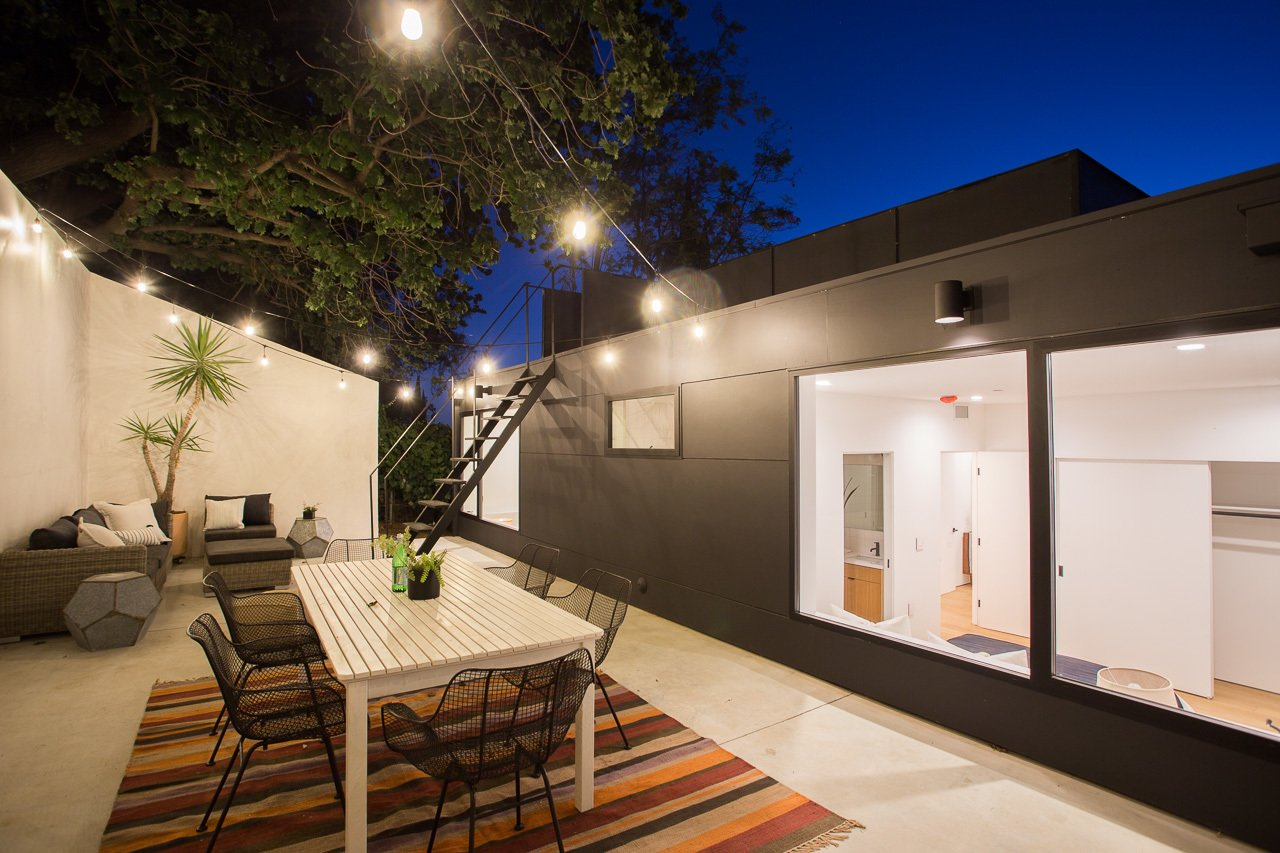 Terrace Tagged: Exterior, Concrete Siding Material, and House. Tilt-Shift House by ANX / Aaron Neubert Architects